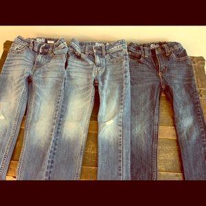 Lot of 3 Osh Kosh Boys Jeans